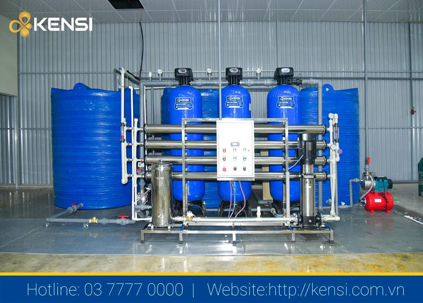 Hệ thống khử khoáng EDI Kensi 2000LH cho nhà máy mạ xi