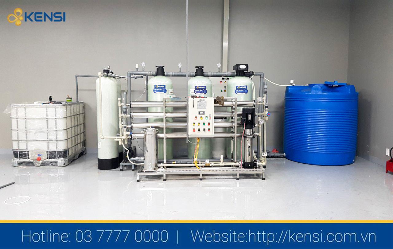 Hệ thống khử khoáng EDI Kensi 2000LH cho nhà máy sản xuất PIN