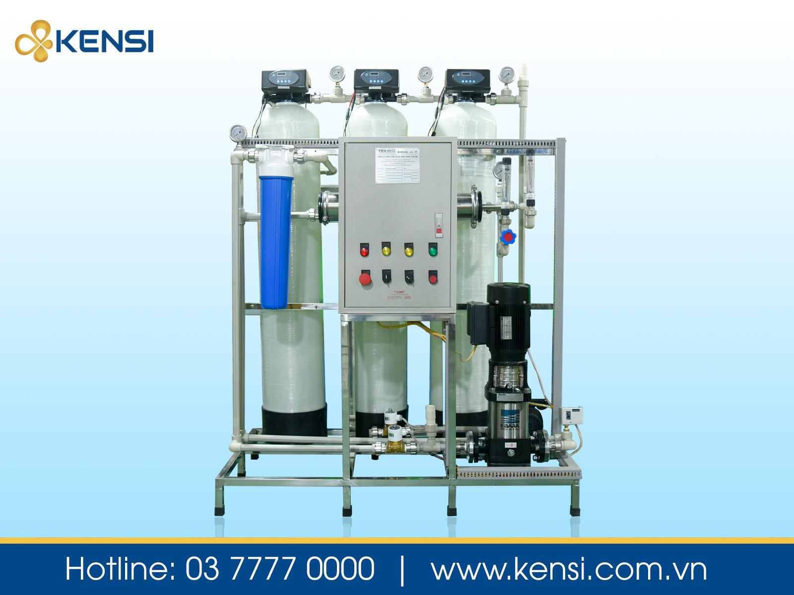 Máy lọc nước công nghiệp sử dụng thích hợp cho nhà hàng