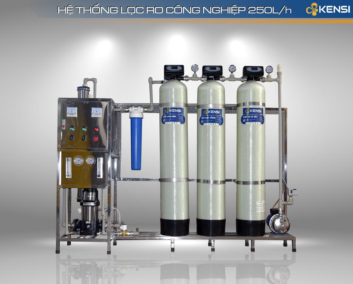 Hình ảnh hệ thống lọc nước RO 250LH