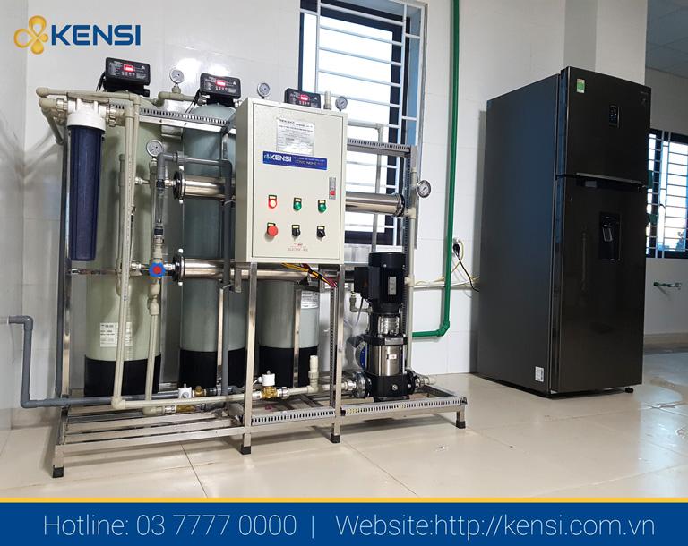 Hệ thống lọc nước công nghiệp cho nhà xưởng