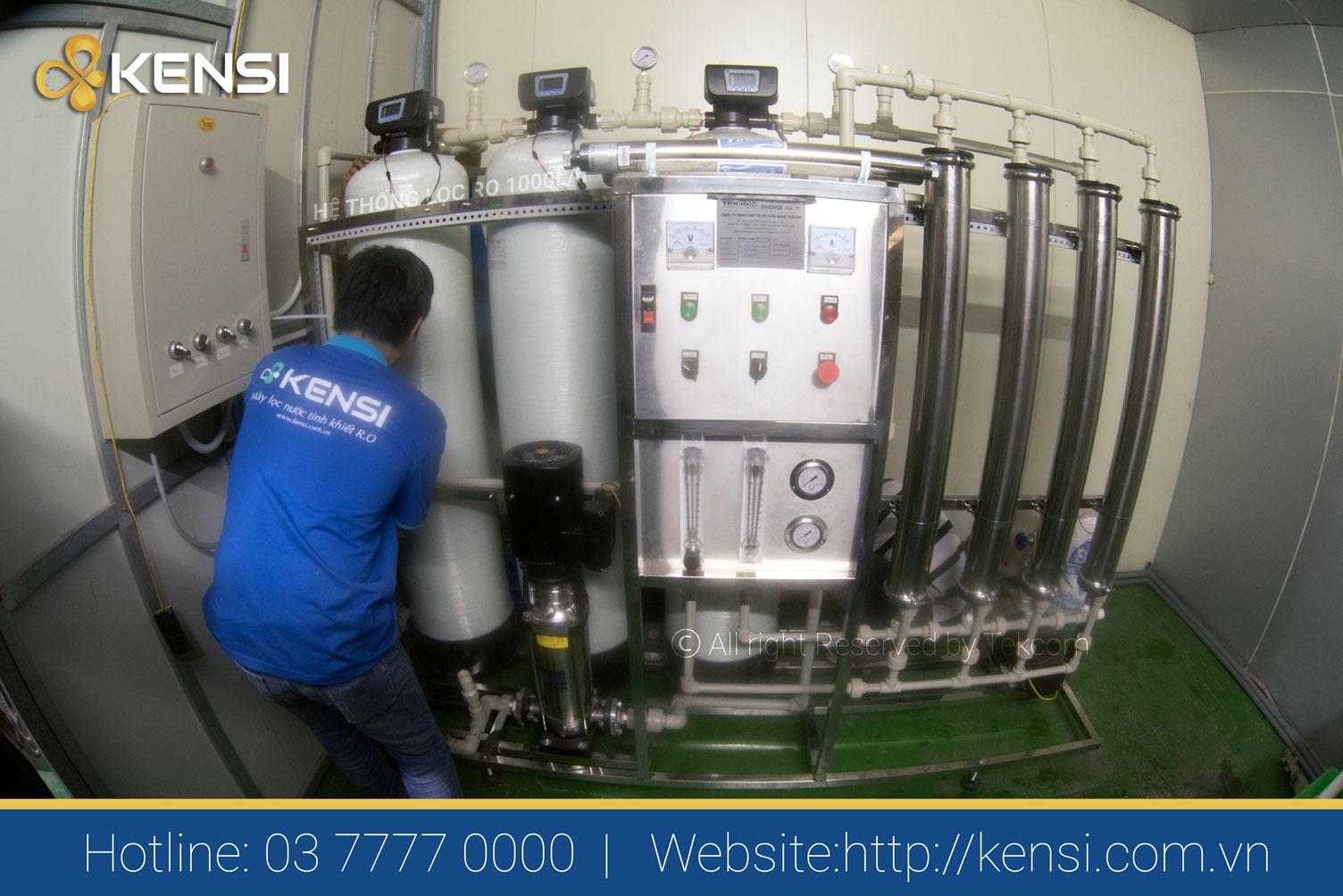 Máy lọc nước công nghiệp công nghệ RO cho nhà hàng