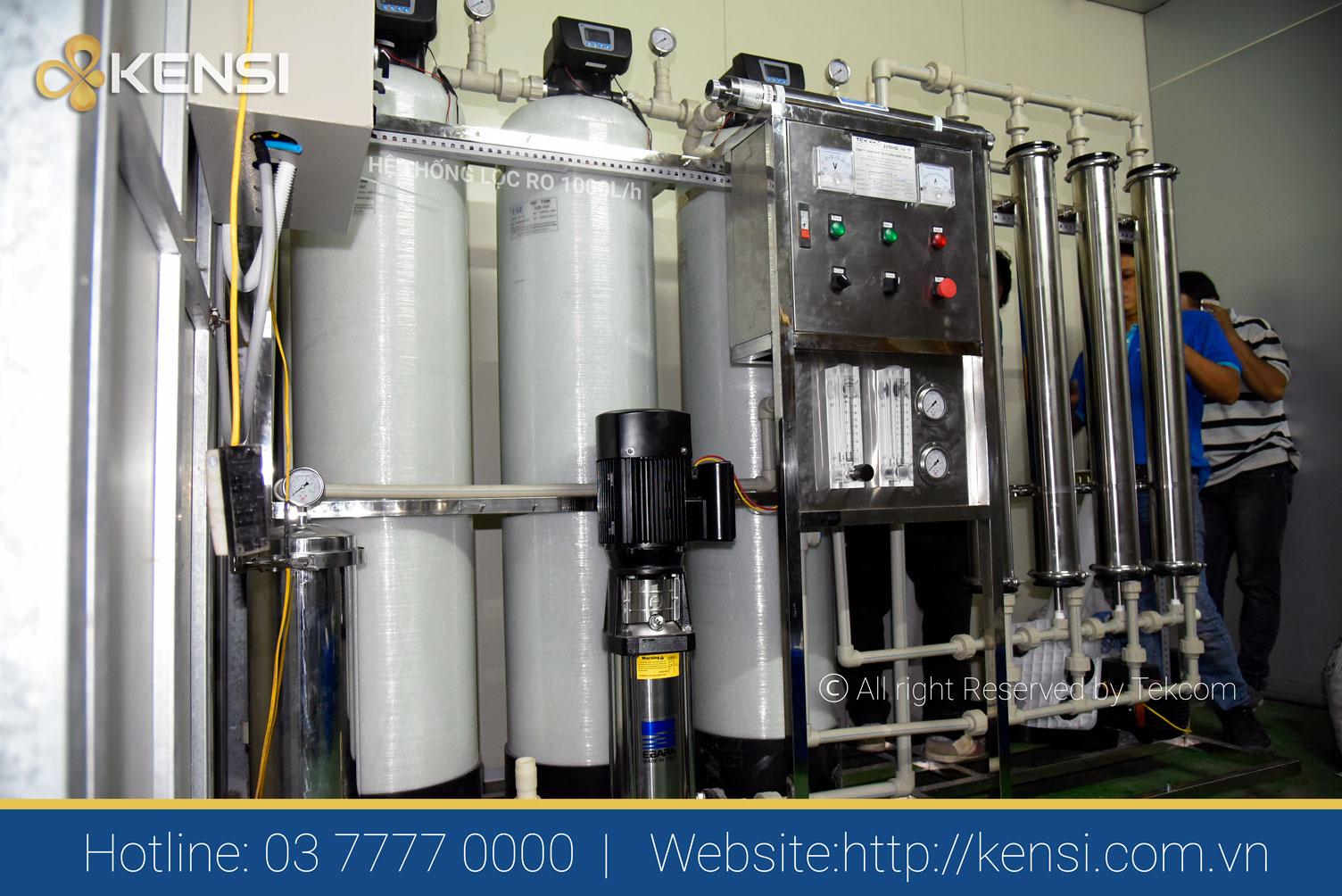 Cung cấp lắp đặt hệ thống lọc nước công nghiệp tại Hà Nội