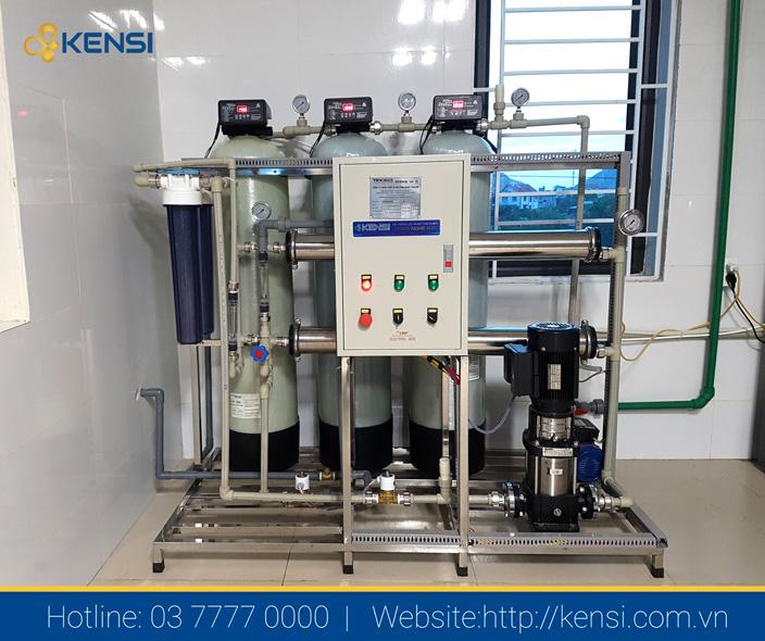 Hệ thống lọc nước tinh khiết công nghiệp cho nhà hàng