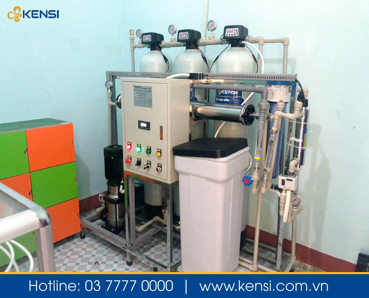 Hệ thống lọc nước công nghiệp tại Quảng Nam