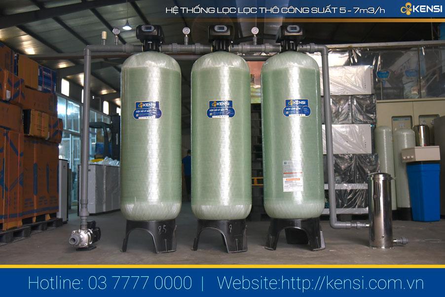 Hệ thống lọc tổng cho nhà máy sản xuất