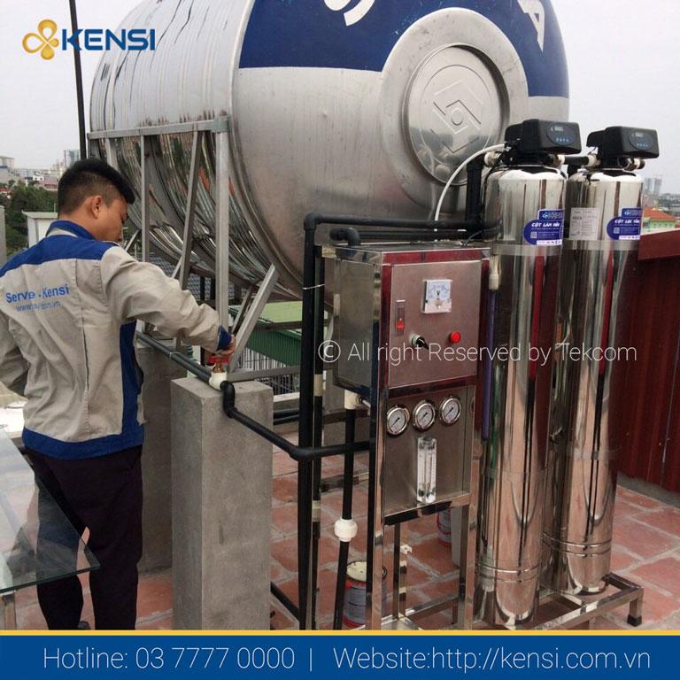 Hệ thống lọc nước RO cho biệt thự