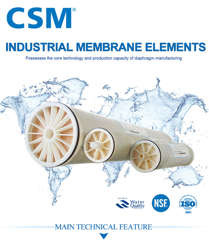 Công nghệ màng lọc RO CSM công nghiệp