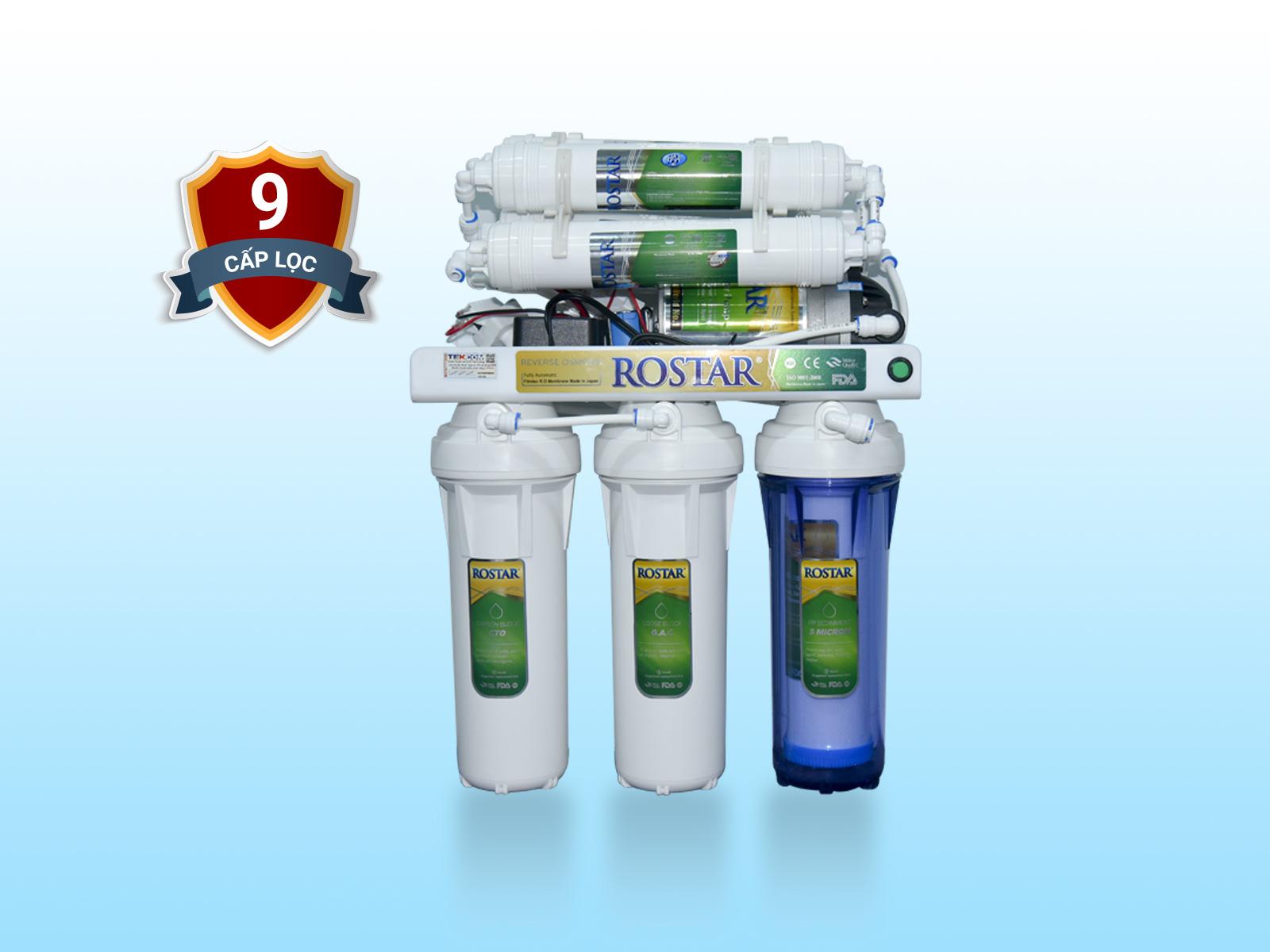 Máy lọc nước RO 9 cấp RS309 - Không tủ