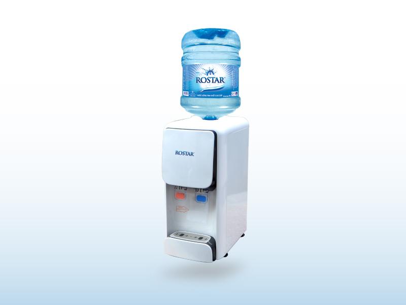 Máy lọc nước nóng lạnh bình úp để bàn