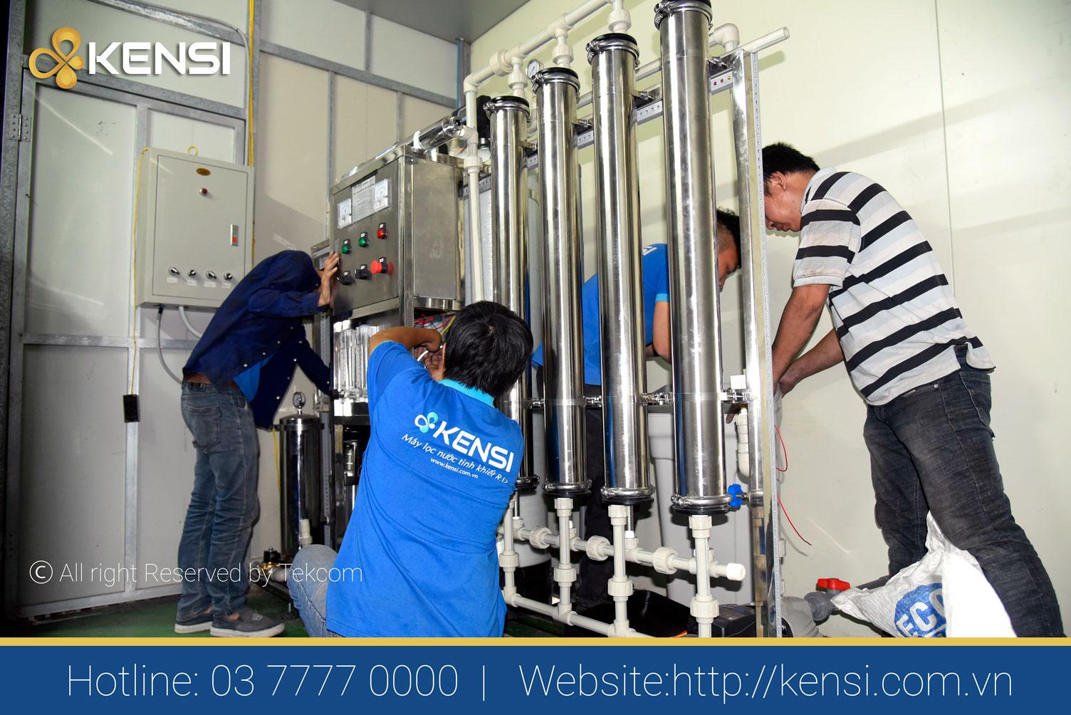 Lắp đặt hệ thống lọc nước công nghiệp RO công suất 1000l/h