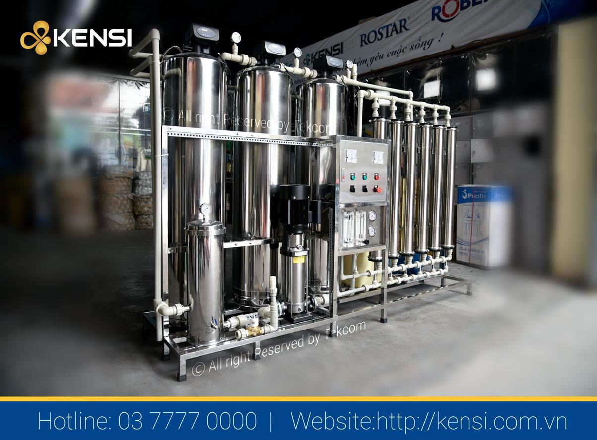 Hệ thống lọc nước công nghiệp RO 1500L/h