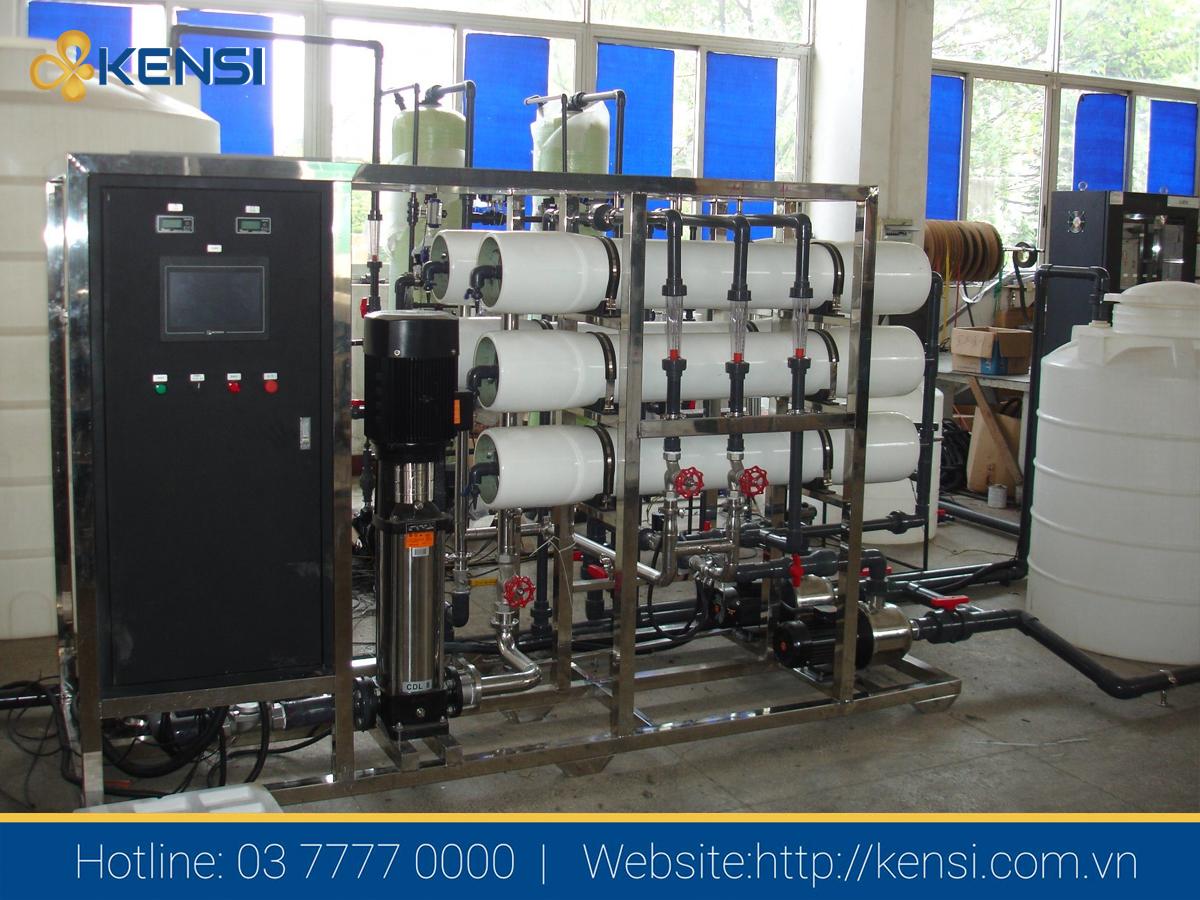 Hệ thống lọc nước công nghiệp RO công suất 5000L/h