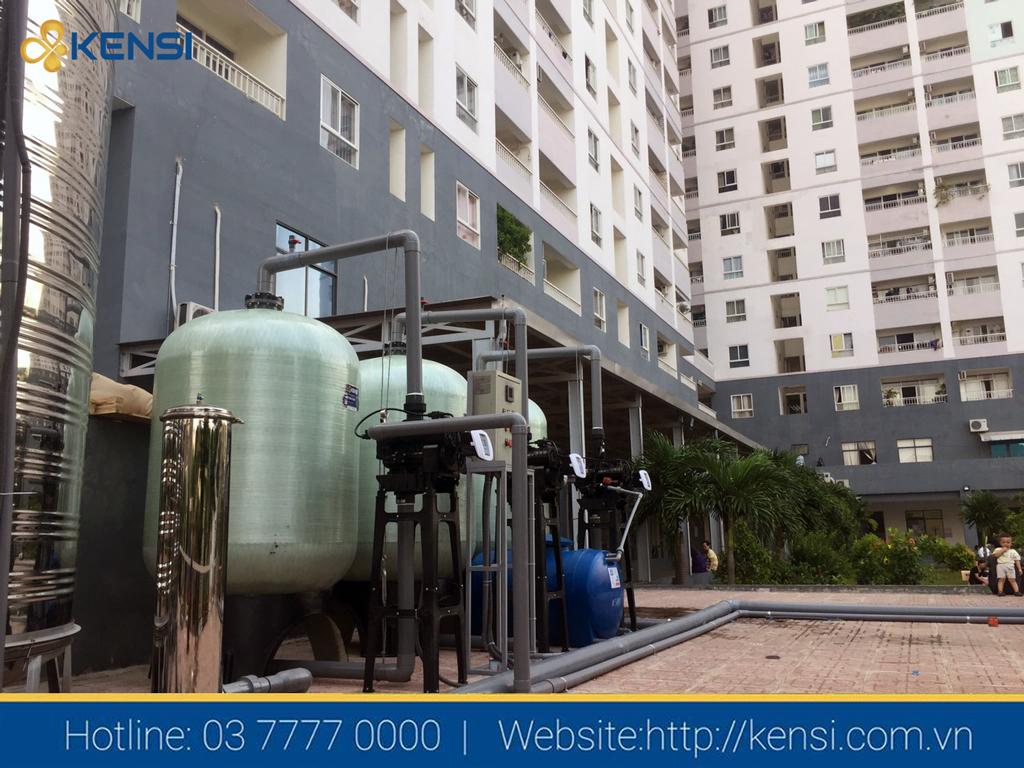 Hệ thống lọc tổng tòa nhà chung cư