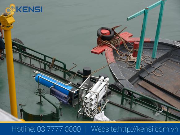 Hệ thống lọc nước biển thành nước ngọt cho tàu vận tải biển