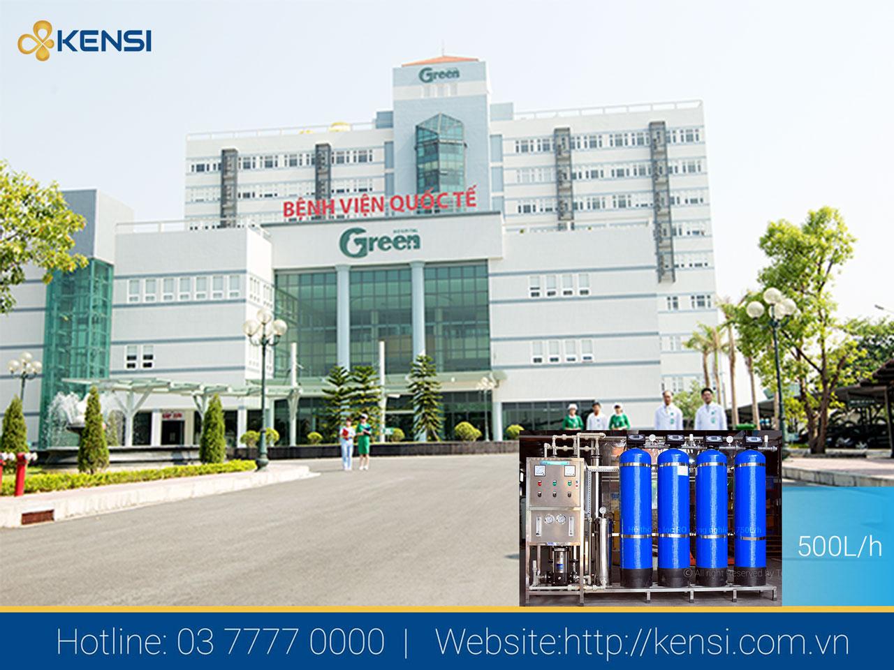 Bệnh viện cần sử dụng nước sạch