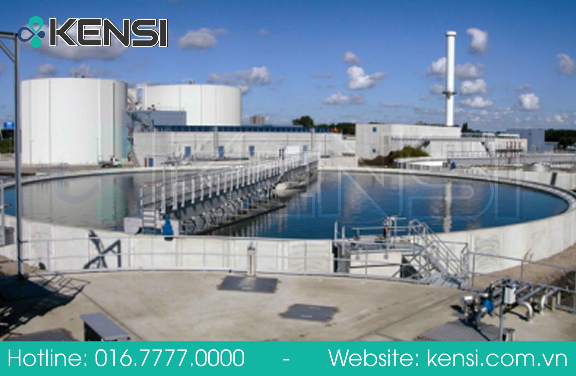 Hệ thống xử lý nước thải khu công nghiệp của Tekcom