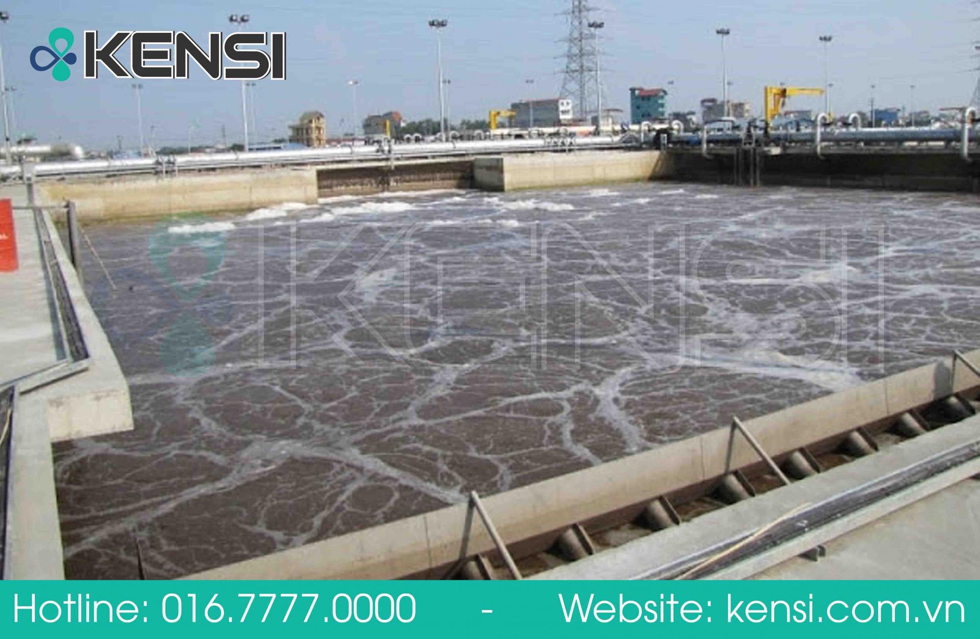 Hệ thống xử lý nước thải nhà máy của Tekcom