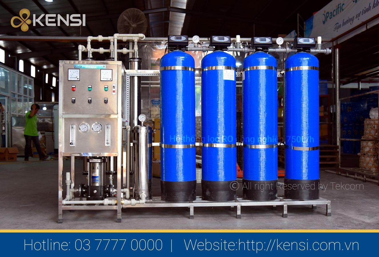 Máy lọc nước RO cho nhà hàng công suất 750l/h
