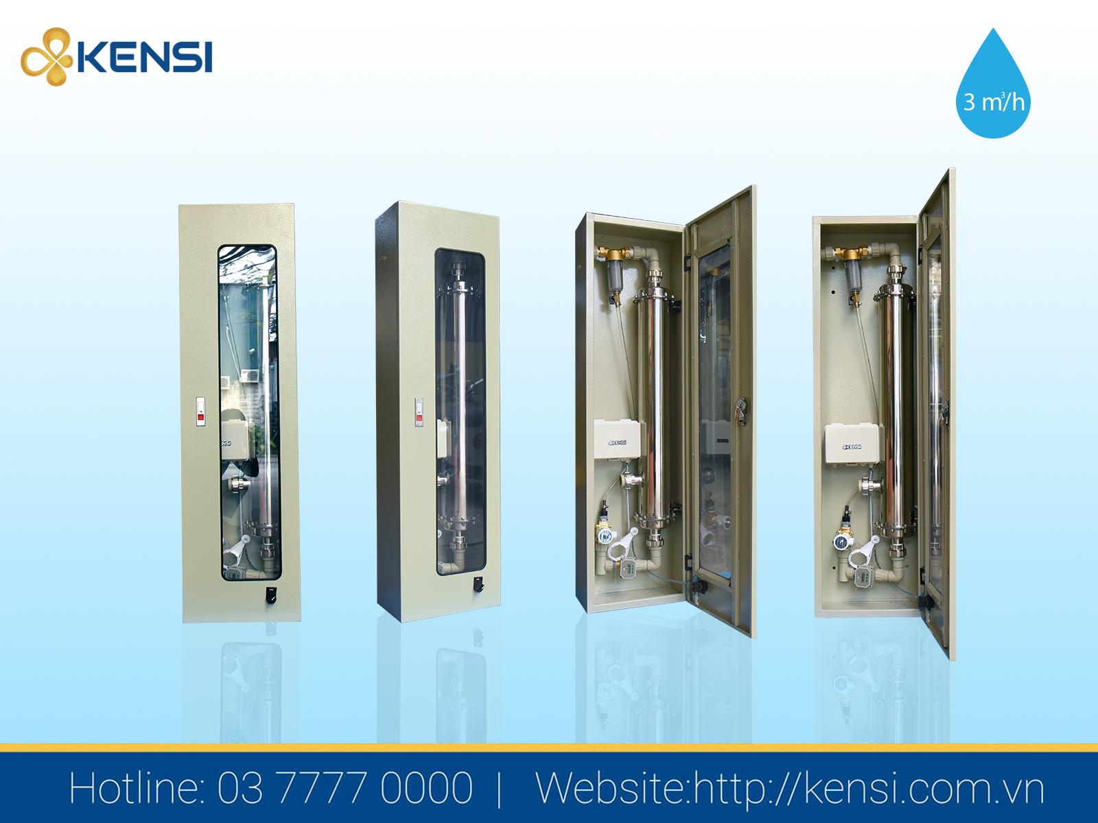 Máy lọc nước cho nhà hàng công suất 3m3/h