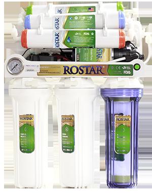 Máy lọc nước chung cư RO 7 cấp lọc đồng hồ, đèn báo