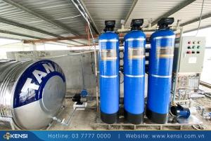 Hệ thống lọc nước công nghiệp trong các nhà máy sản xuất
