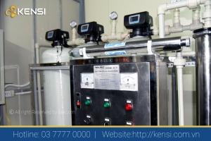 Hệ thống lọc nước công nghiệp cung cấp nước cho tập thể
